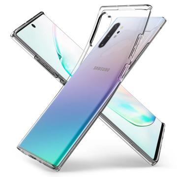Ốp dẻo Spigen Liquid Crystal Galaxy Note 10 Plus (chính hãng)
